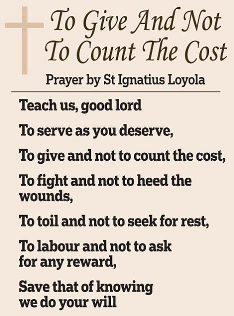 St Ignatius of Loyola | +++ PRAYER JOURNAL | St ignatius
