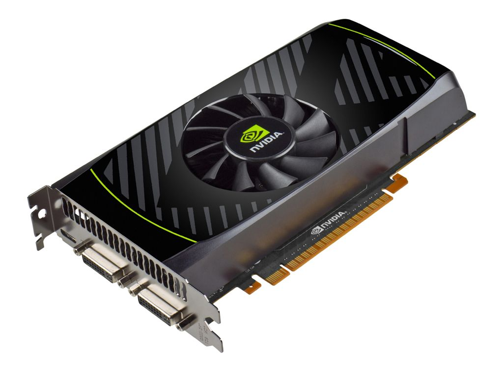 GeForce GTX550Ti—I know there are fancier ones now, but when I got mine, it was the business.
