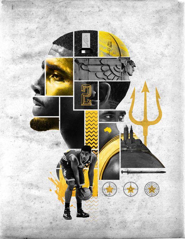 Kyrie Irving Blaine Fridrick Sports Graphic Design Typography