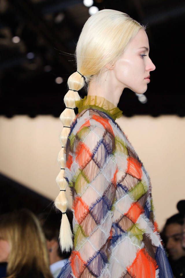 The Hottest Hair Trends For Fall 2014 Hair Trends 2014 Hair Trends Runway Hair
