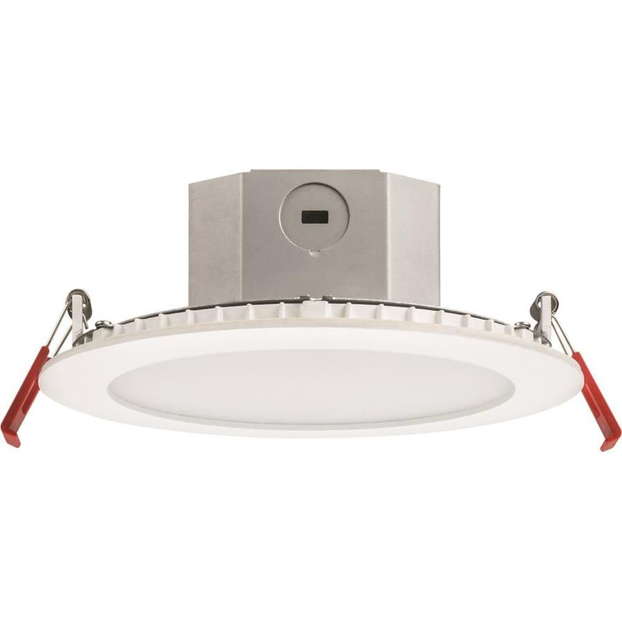 Juno White Led Remodel And New Construction Recessed Light Kit Fits Opening 6 In Recessed Lighting Kits Recessed Lighting White Lead
