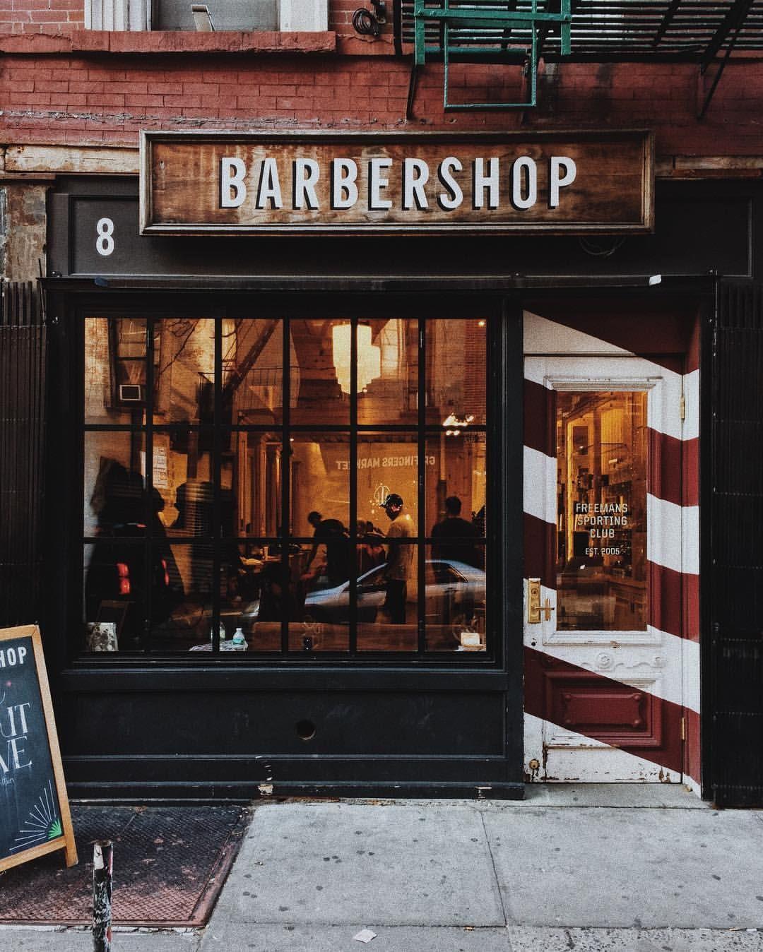 New York Salon De Barbier Salon De Coiffure Vintage Salon De Coiffure