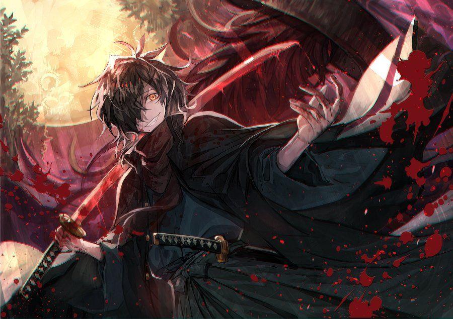 村カルキ on Anime warrior, Character art, Anime
