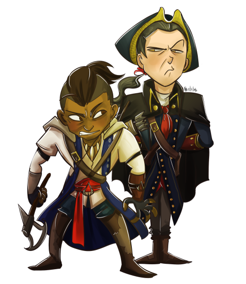 Connor And Haytham Fanfiction [AC3] Connor and Hayth...