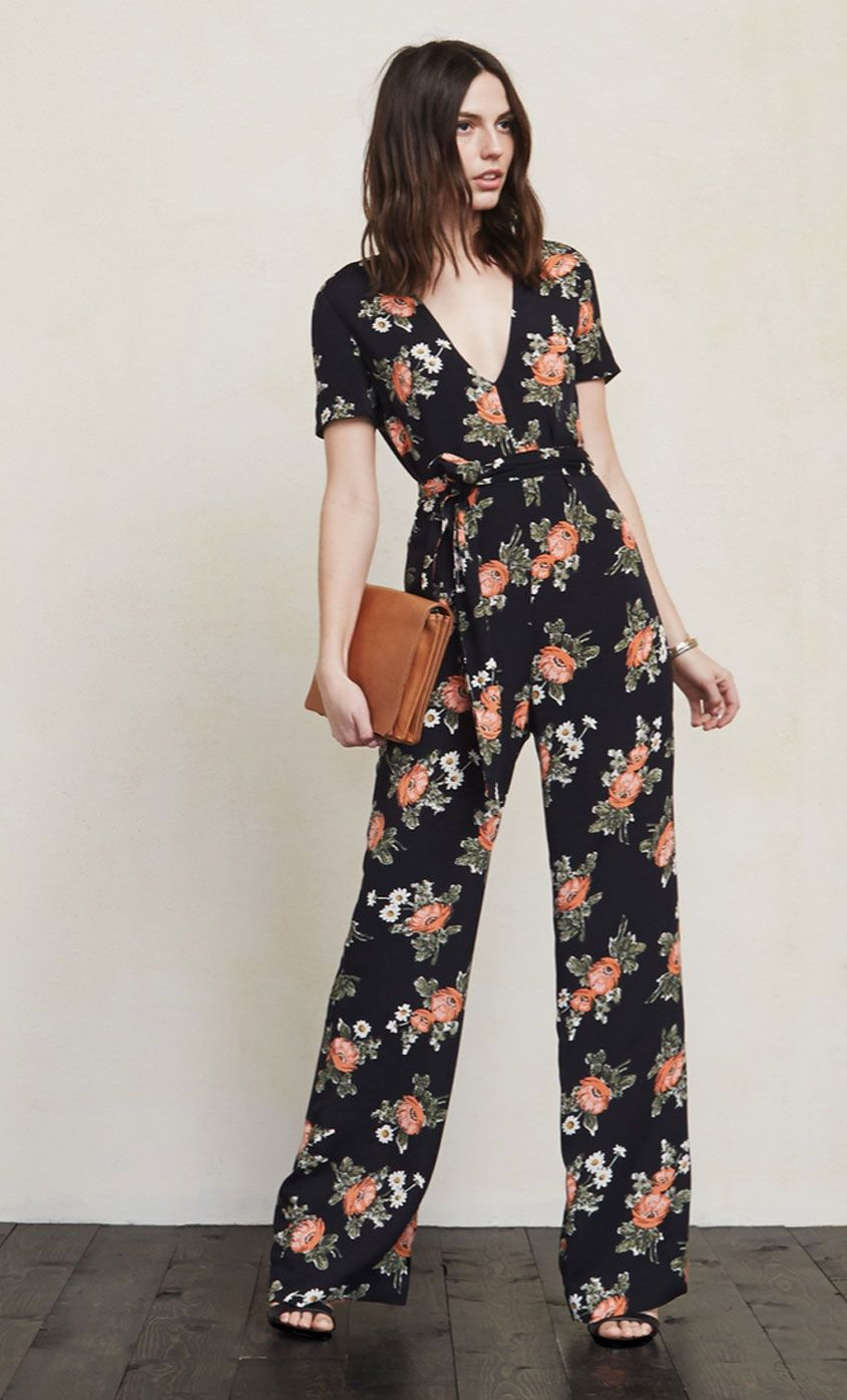 Spring's Prettiest Jumpsuits, Rompers, and One-Pieces #casualjumpsuit