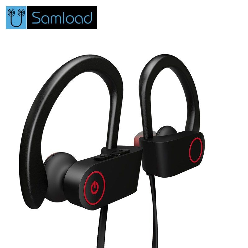 6aece964e52 Cheap Samload S2 Sport Bluetooth Earphone Wireless Headphone Bluetooth  Headset Stereo Super Bass Earbuds With Microphone for Running