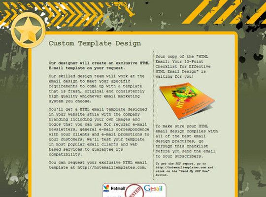 50 Useful And Free HTML Newsletter Templates Free and Useful - company newsletter template free