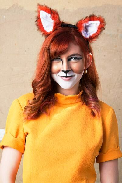 Fox Halloween Makeup Ideas for Women