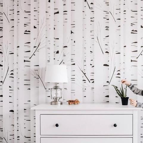 Oh Deer Wallpaper Mural (With images) Woodland wallpaper
