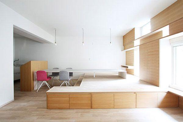 japanese minimalist furniture. Minimalist Small Japanese House Living Room Interior Furniture N