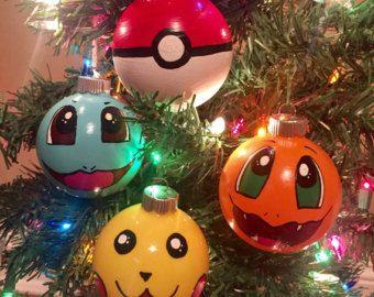 Pokemon Christmas Ornaments.Pokemon Christmas Ornaments By Heatherinwanderland On Etsy