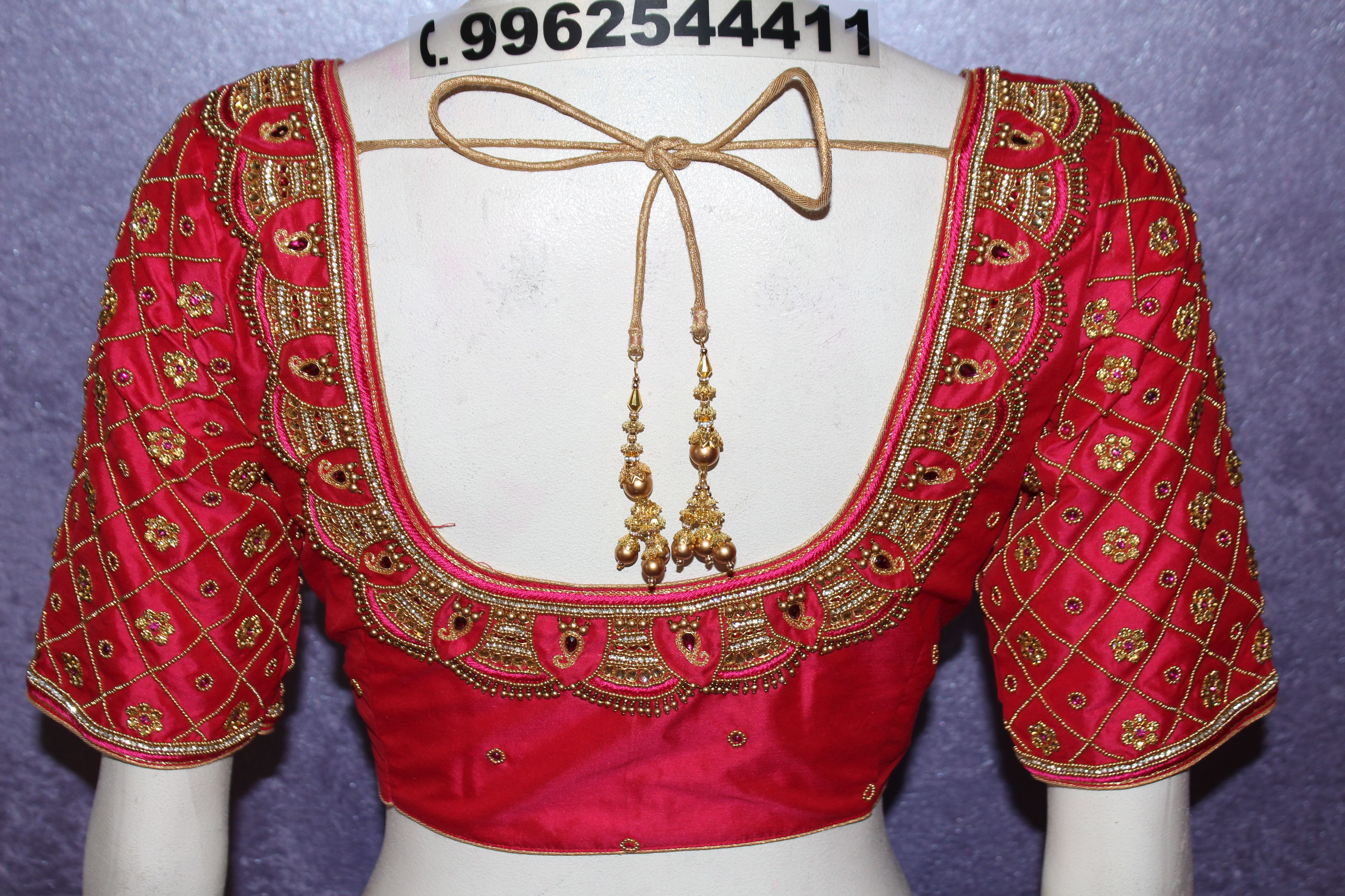Embroidery Design Blouse At Sthri Ladies Fashion Designer Dress Suits Designer Blouse Saree Blouse Designs Blouse Work Designs Bridal Boutique Sewing Dresses