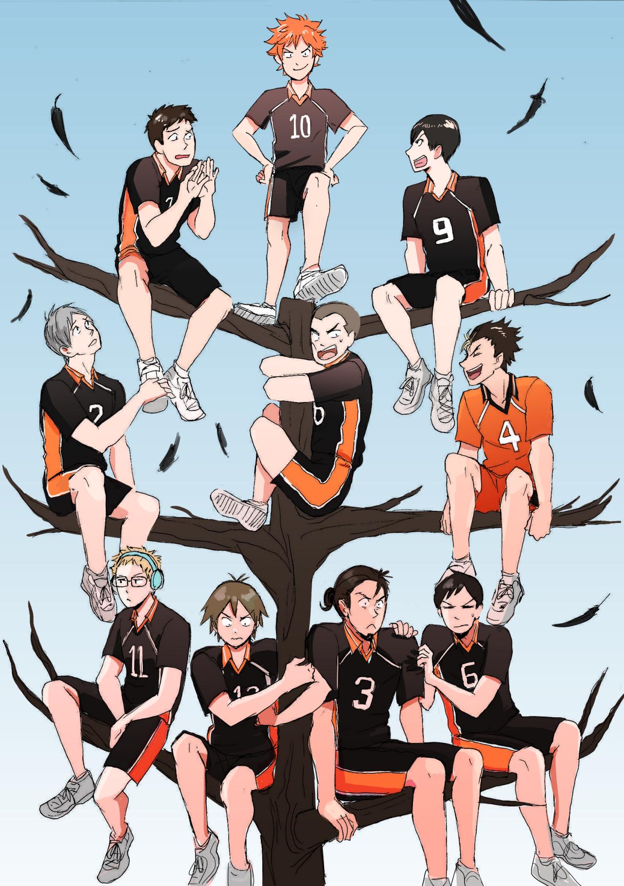 Haikyuu Karasuno High School Volleyball Club Haikyuu Karasuno Haikyuu Anime Haikyuu