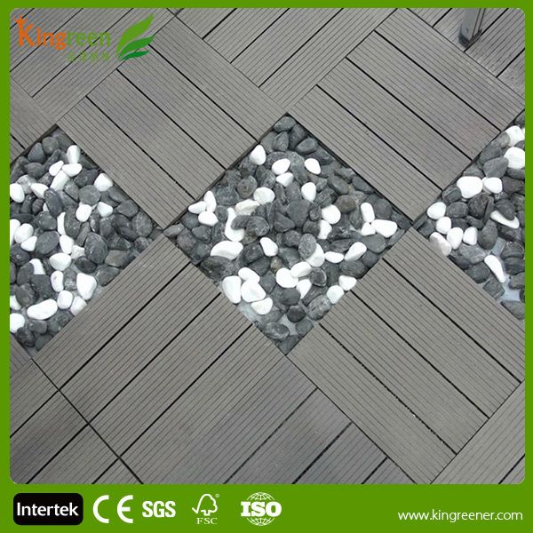 Source Cheap Non Slip Wood Composite Decking Tiles Recycled