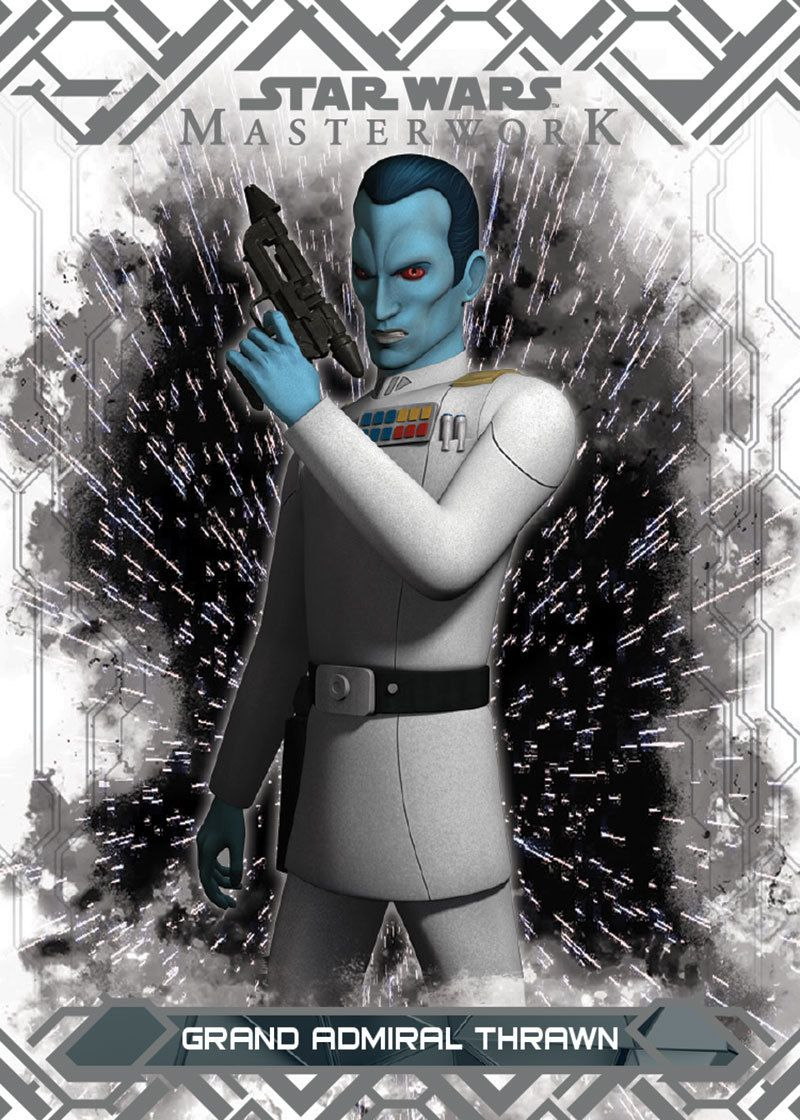 Starwarscardtradercollection Grand Admiral Thrawn A Member Of The