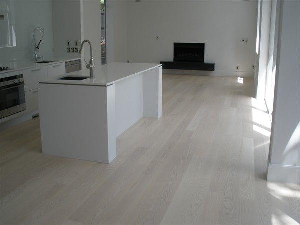 Whitewash Laminate Wood Flooring Final House Pinterest Wide