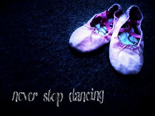 You don't stop dancing because you grow old,, you grow old because you stop dancing ... ^^