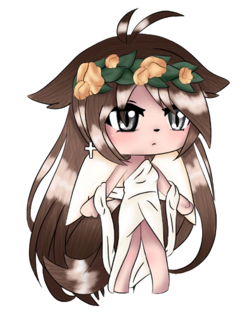 Sketch From Sony Anime Wolf Girl Cute Profile Pictures Kawaii Chibi