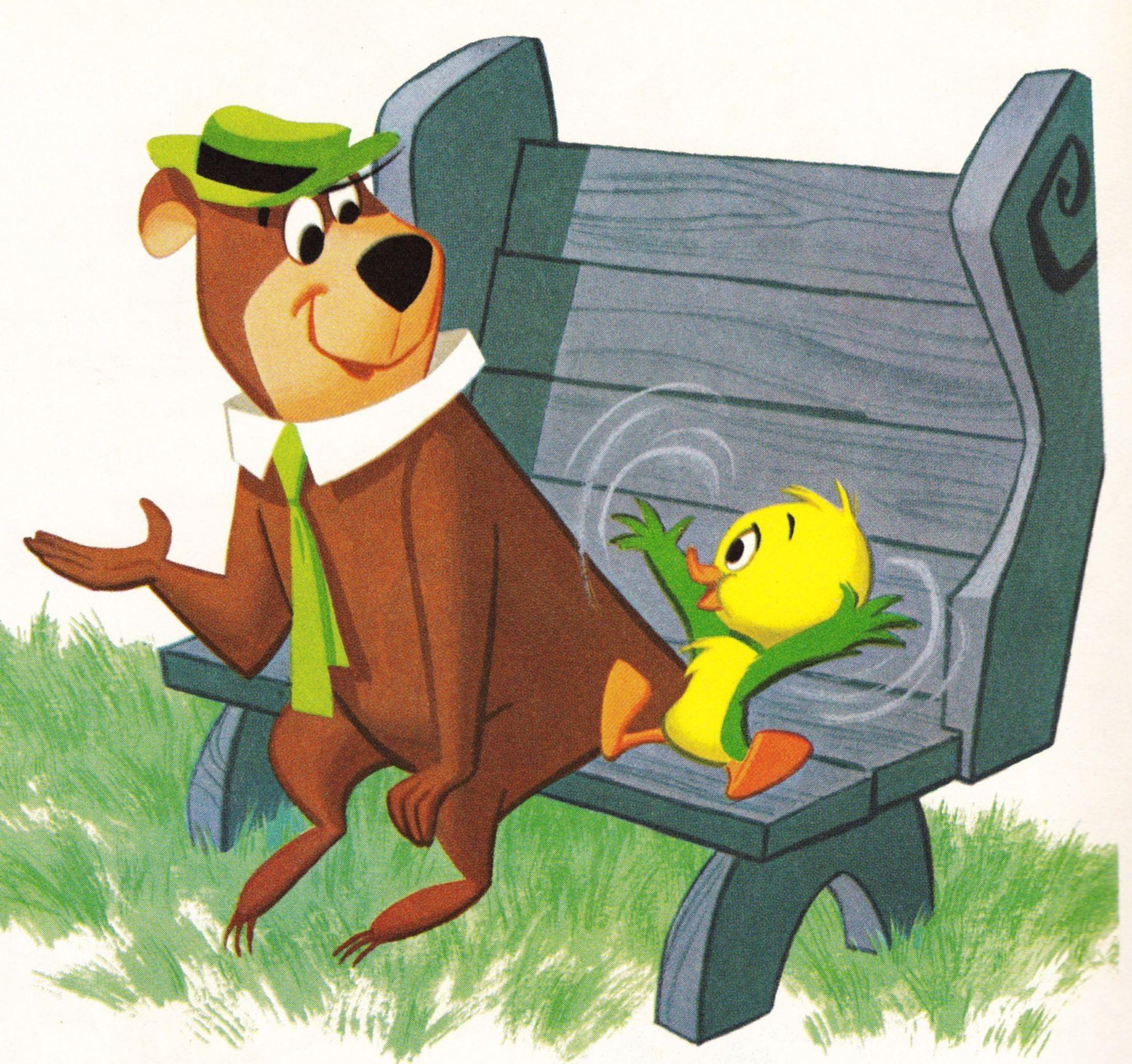 Yogi Bear And Yakky Doodle 1860x1749
