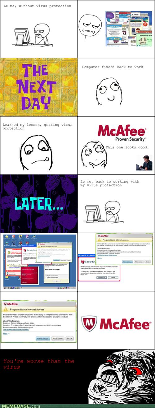 More Annoying Than Viruses Rage Comics Rage Comic Page