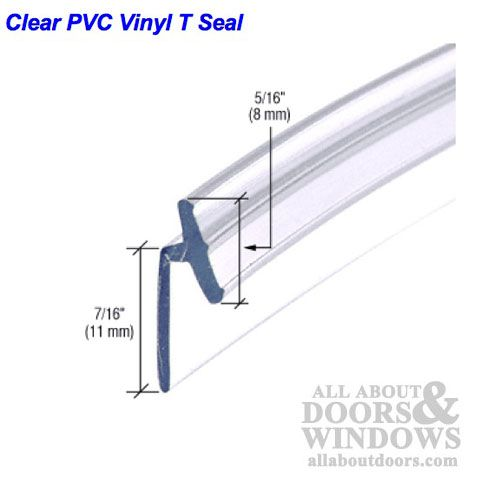 Pvc Vinyl T Seal Frameless Hinged Shower Door Clear Shower Door Seal Sliding Shower Door Shower Doors