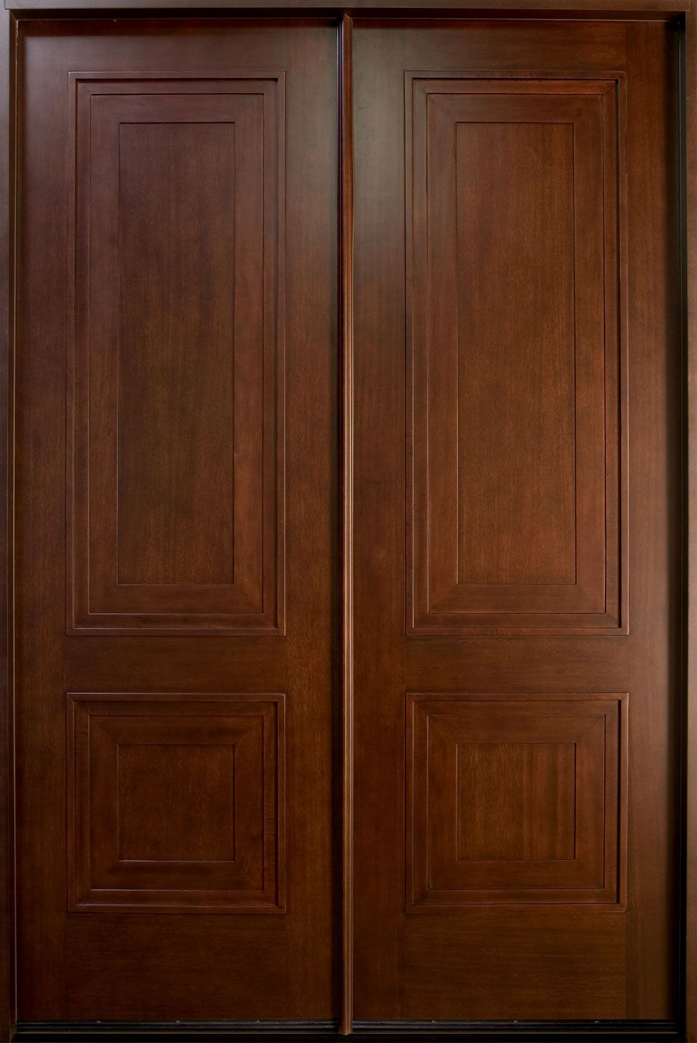 Mahogany walls entry google search doors windows pinterest wood double door models doors may appear more challenging to fasten due to how they close at first rather than shutting t planetlyrics Gallery