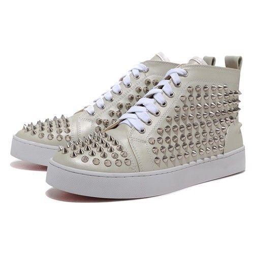 site réputé 3876c f23fc Chaussure Louboutin Pas Cher Homme Abricot Rivet0 ...