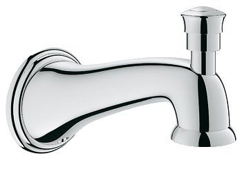 Grohe Parkfield Wall Mount Tub Spout With Diverter Clawfoot Tub