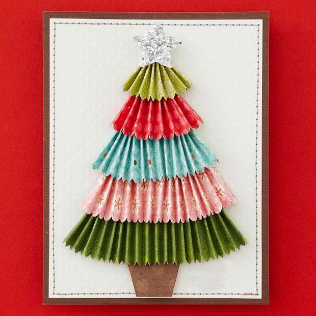 Diy xmas cards diy felicitaciones navidad xmas - Felicitaciones de navidad originales para ninos ...