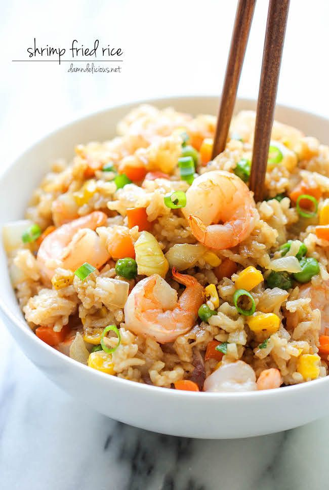 Shrimp Fried Rice Recipe Gf Lc Other Shrimp Fried Rice Food