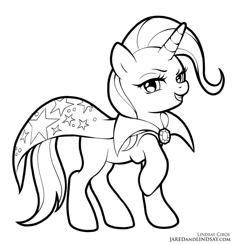 Trixie By Lcibos Horse Coloring Pages Mermaid Coloring Pages My Little Pony Coloring