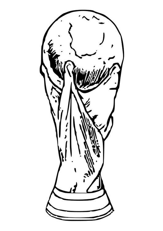Malvorlage World Cup Pokal Malvorlagen Pokal Vorlagen