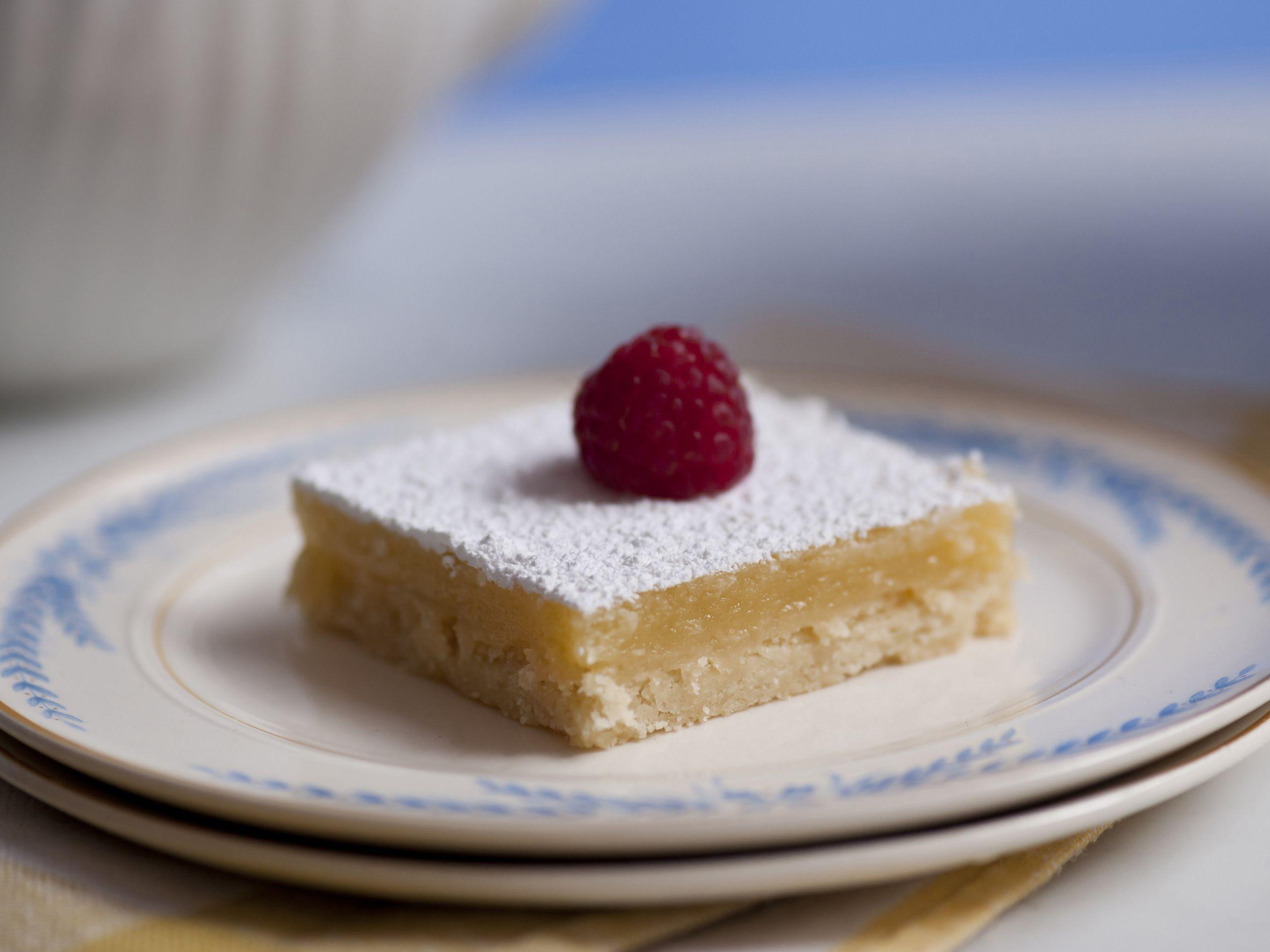 Luscious Lemon Squares from FoodNetwork.com
