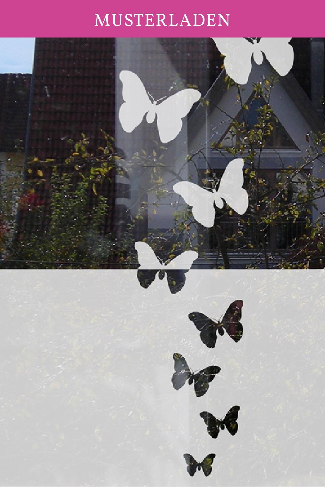 Fensteraufkleber Schmetterlinge Sichtschutz Fur Fenster