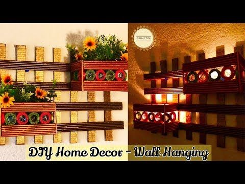 Wall Hanging Crafts newspaper crafts for home decor wall hanging