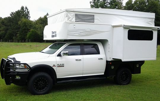Phoenix Flatbed Pops Up And Slides Out Pop Up Truck Campers