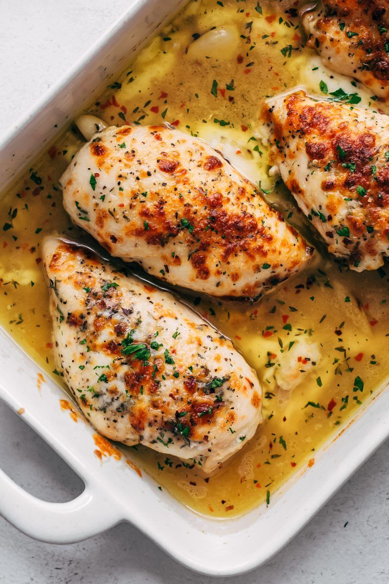 Baked Garlic Butter Chicken With Mozzarella Recipe Little Spice Jar Recipe Mozzarella Chicken Garlic Butter Chicken Mozzarella Recipes