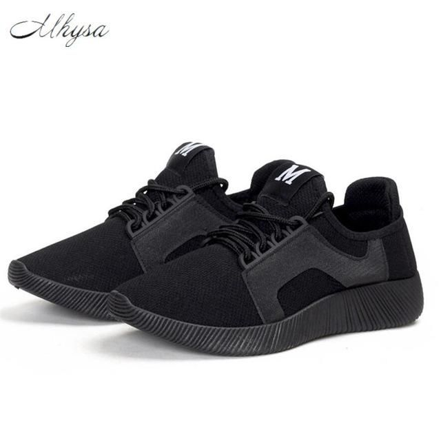 Mhysa 2018 Spring and summer Designer Wedges Red Black Platform Sneakers  Women Shoes Casual Air Mesh Female Shoes Woman S255 e23af044120f