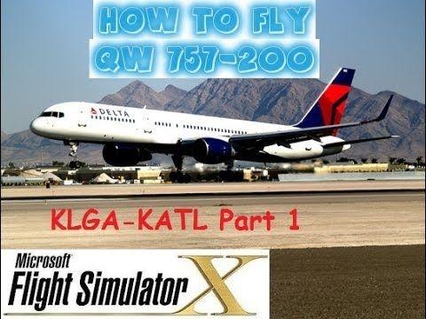 Flight Simulator X (FSX) - How to Fly - QW Boeing 757-200