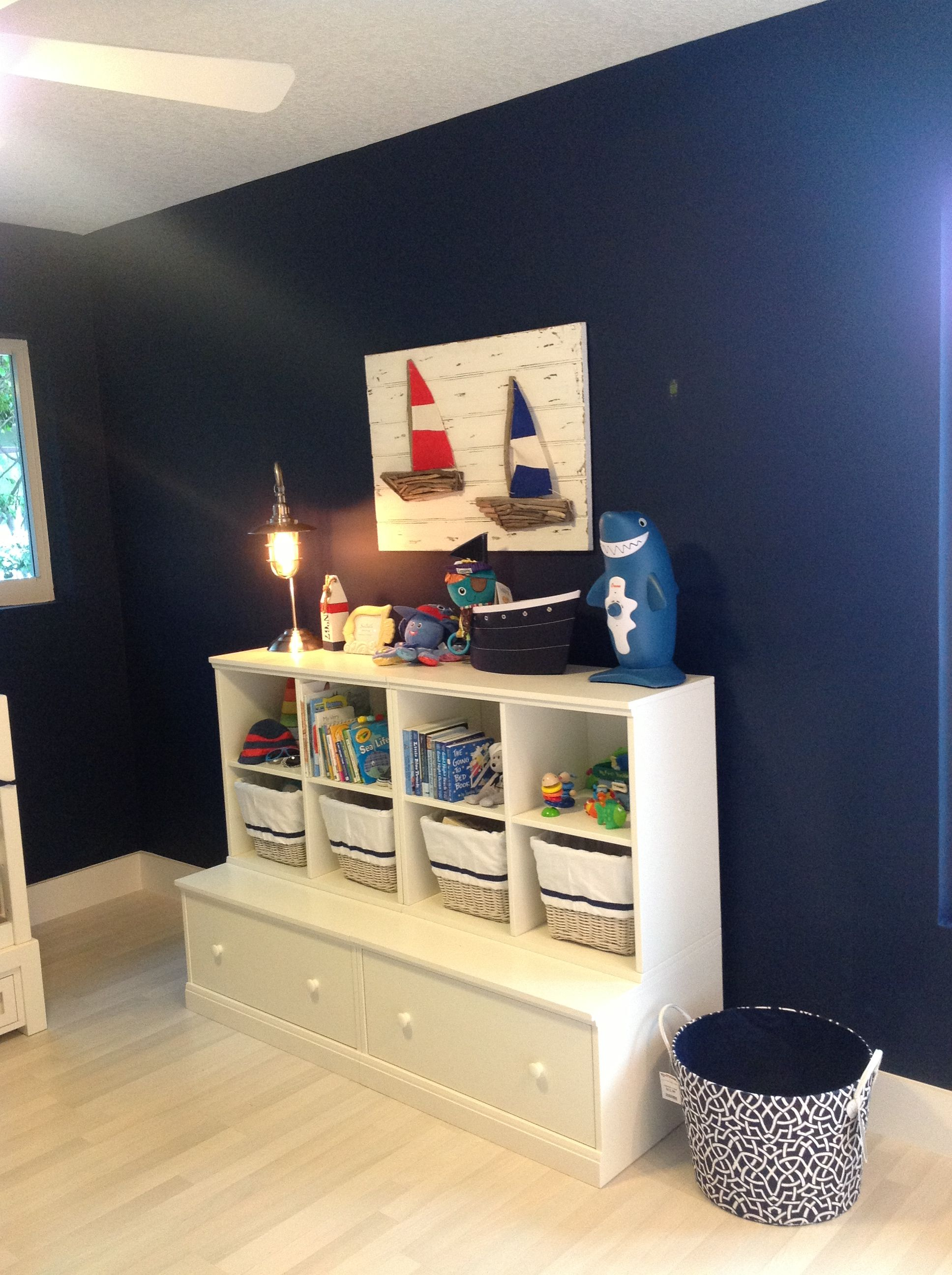 Nautical nursery. Color Ben Moore Old Navy. Pottery barn furniture ...