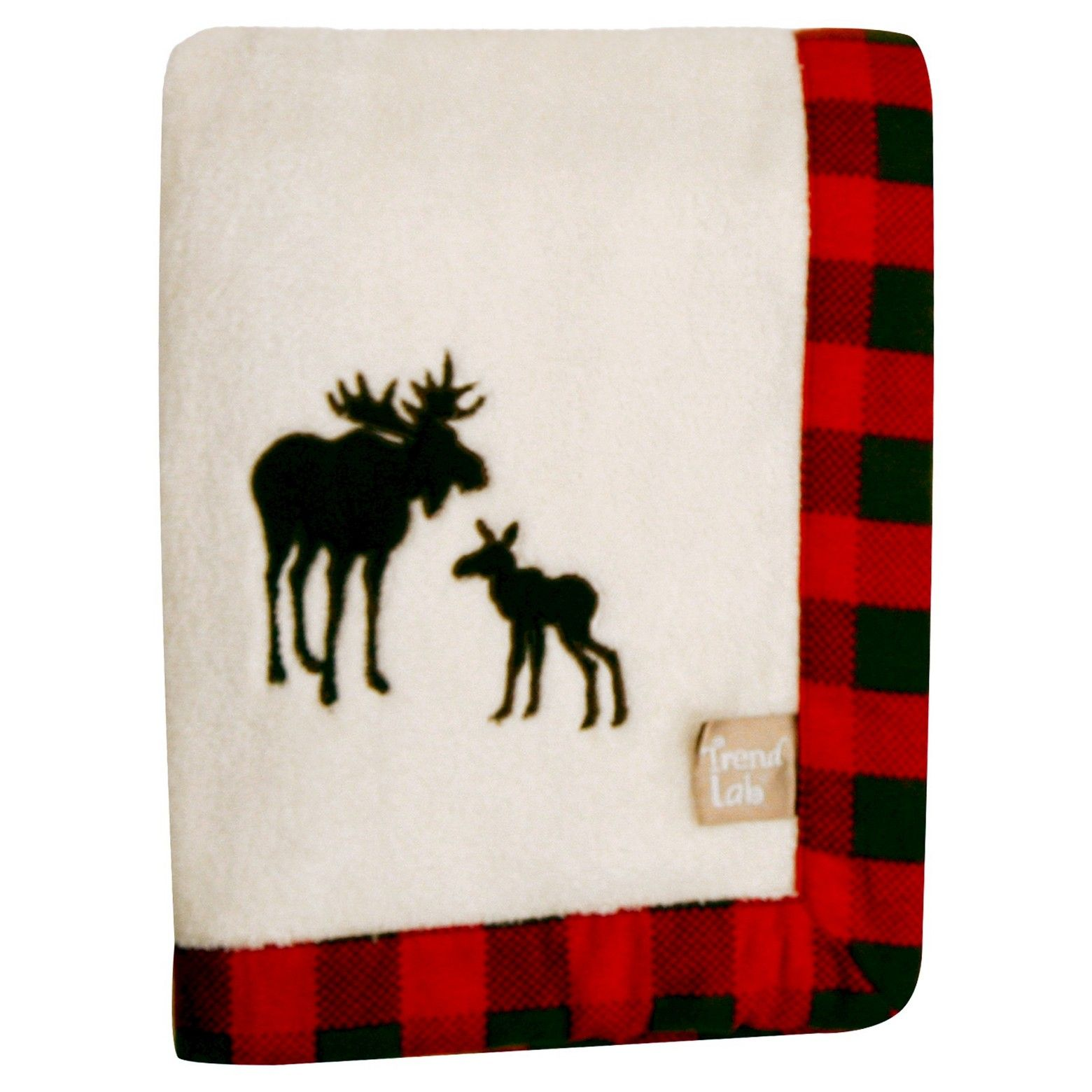 Keep your little one warm and secure with this northwoods framed