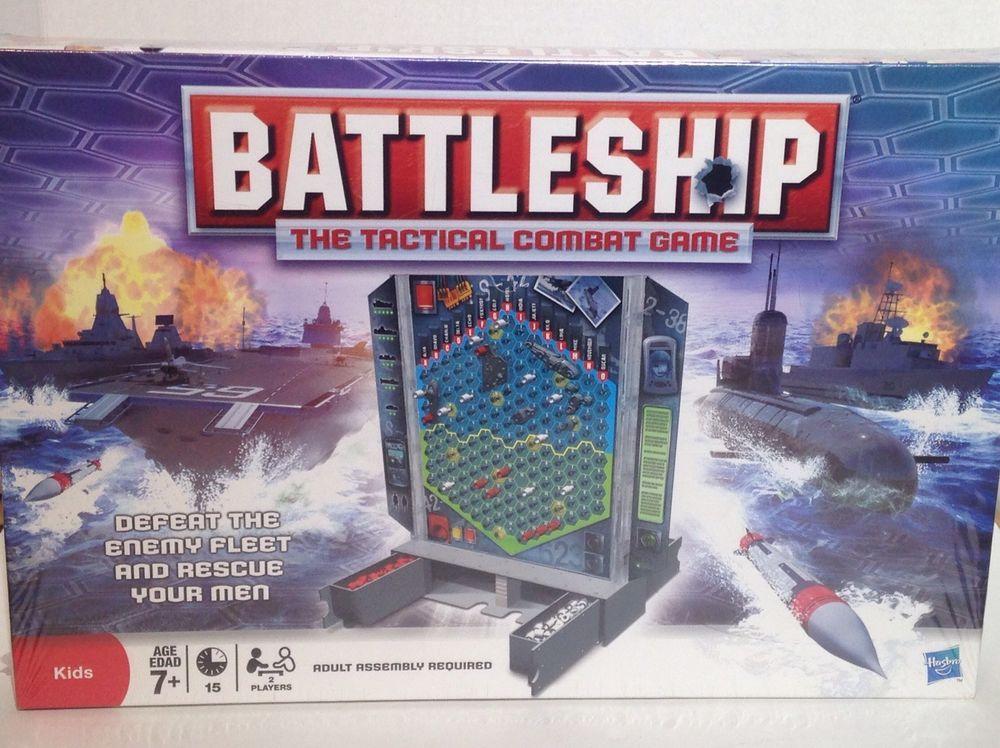 Battleship The Tactical Combat Game MiltonBradley
