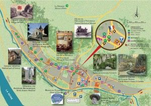 Map Plan Giverny 2013 French Life In 2019 Pinterest Map