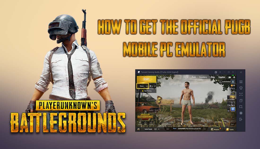 How to Get the Official PUBG MOBILE PC Emulator  (Official Keyboard