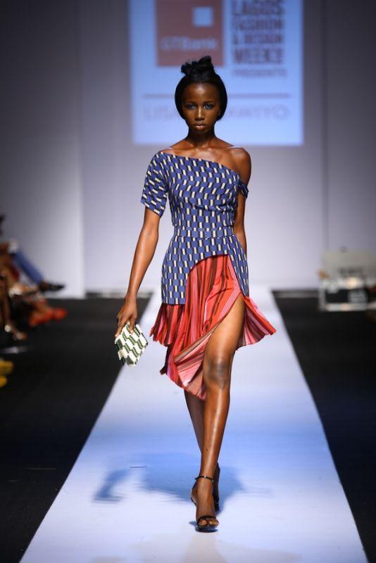 Gtbank Lagos Fashion Design Week 2014 Day 3 Lisa Folawiyo Fashion African Fashion Women African Chic