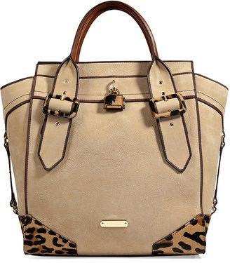 Tote In HoneyBags Burberry Leatherhaircalf Manor mN0wOv8n