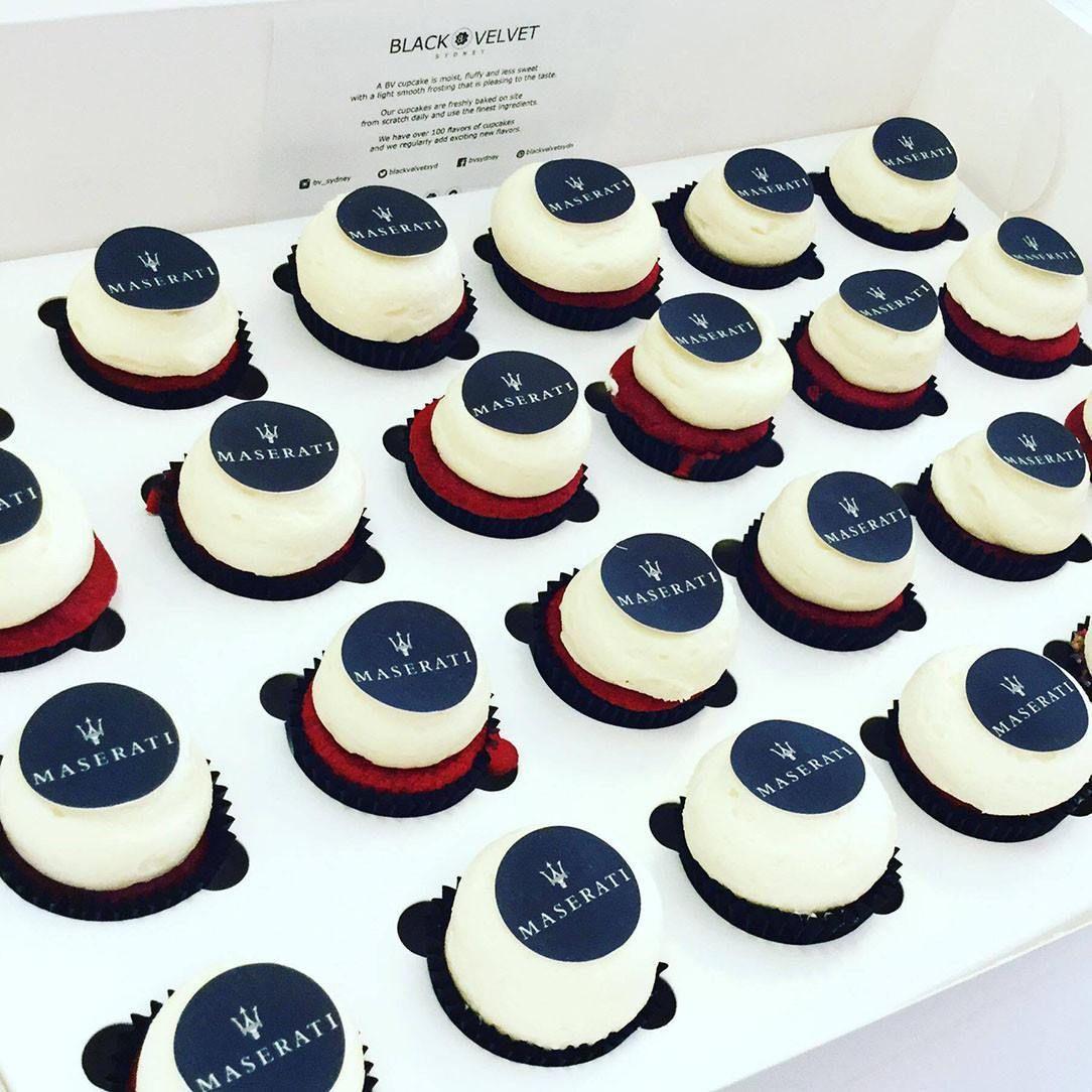 Maserati Cupcakes By Black Velvet Sydney Sweet Things