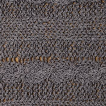 Cable with 4X3 Rib - Manual Knit