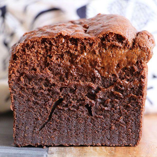 Gâteau au chocolat (sans sucre, sans beurre et sans farine !) -   14 desserts Light chocolat ideas