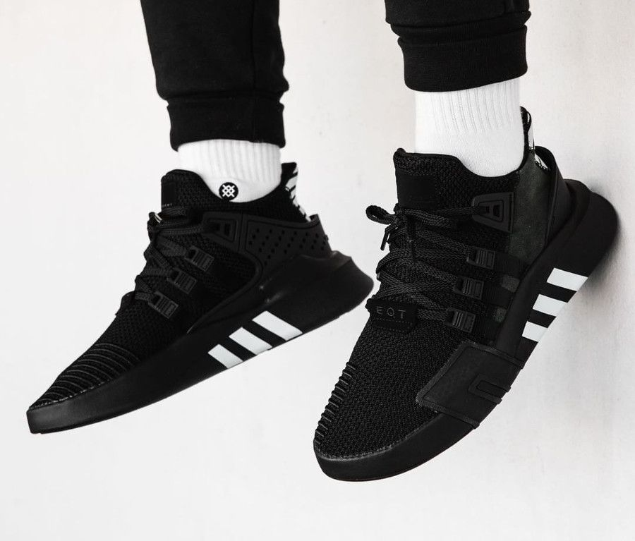 adidas eqt all black homme